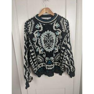 Vintage McGregor Patterned Knit Sweater